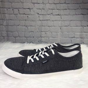 Woman's Vans Ortholite Charcoal Gray Sneakers 9.5